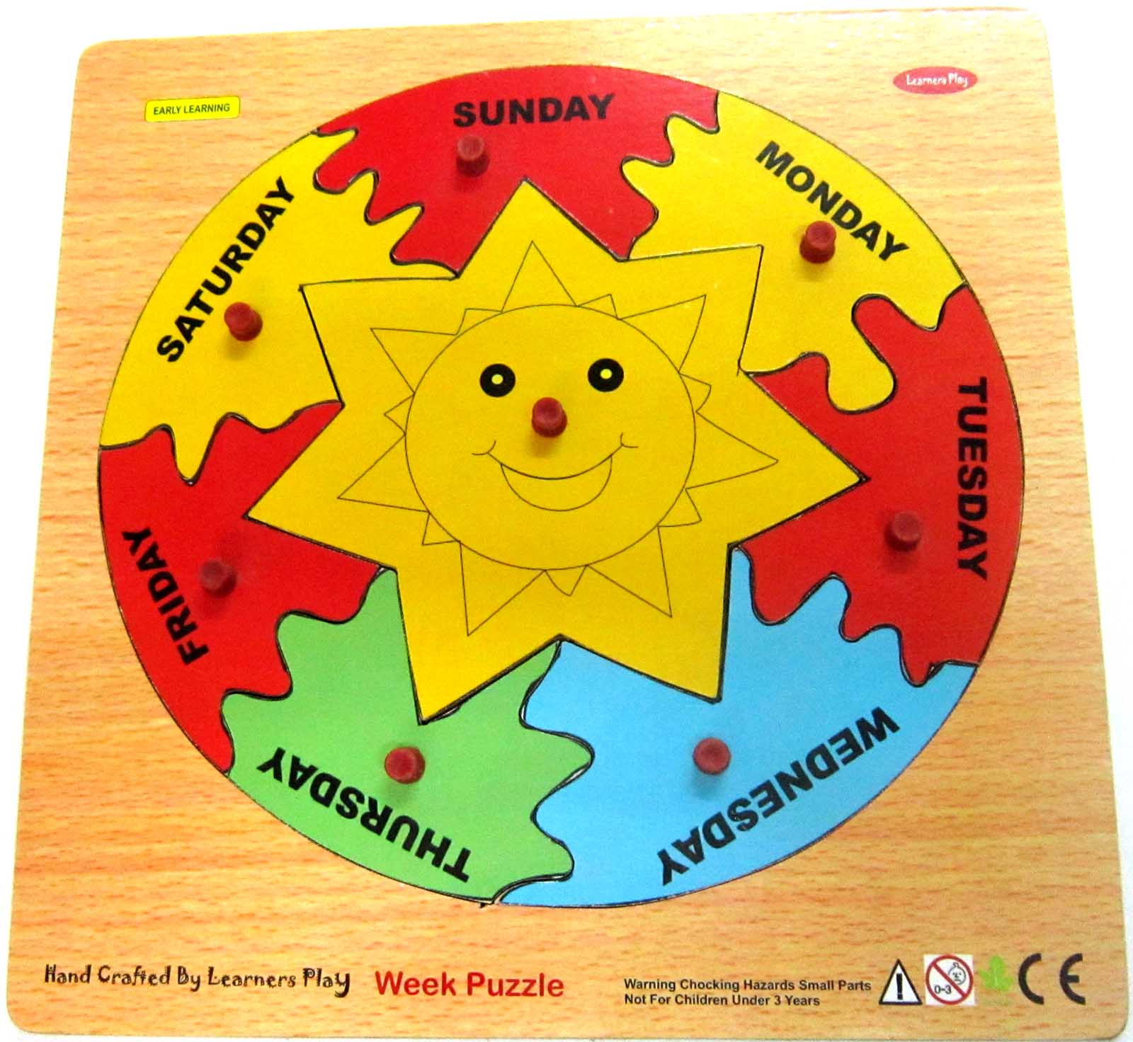 Wooden Week Puzzle