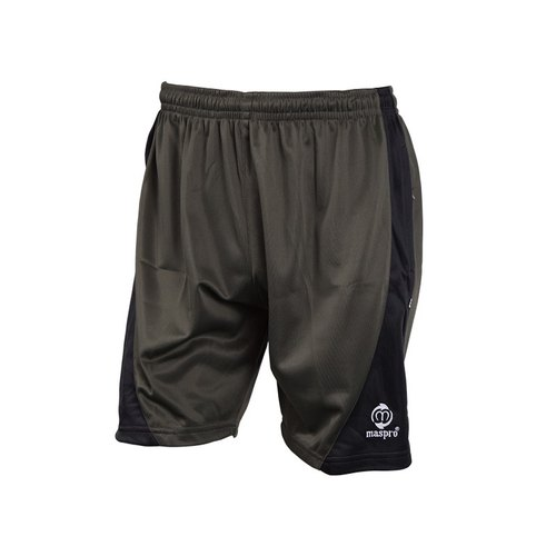 Black Plain Maspro Badminton Shorts