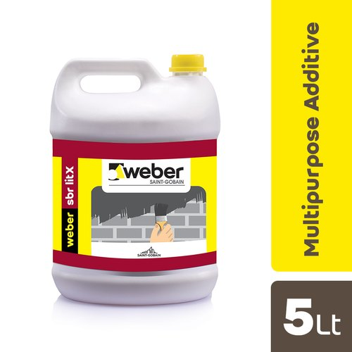 Weber Liquid Webertec SBR Litx Waterproofing Bonding and Repair, Packaging Type: Can