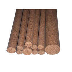 Wooden Cork Rods, Round