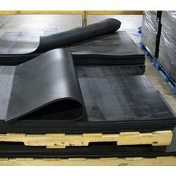 Black Moulded Rubber Sheet